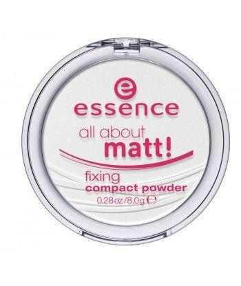 essence all about matt! fixing compact powder 8g
