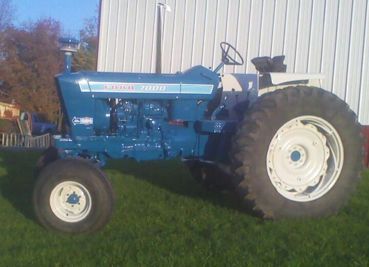 Ford 5200 Tractor Farm : Ford row crop tractor autos post