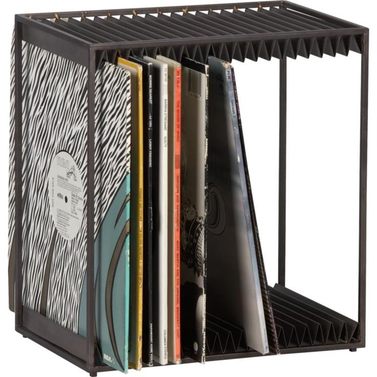 33 best lp record storage racks stands images on. Black Bedroom Furniture Sets. Home Design Ideas