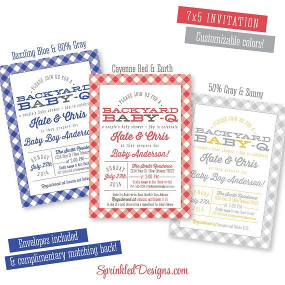 75 best baby-q | bbq baby shower picnic images on pinterest | baby, Baby shower invitations