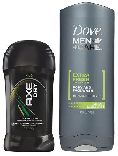 Axe Deodorant or Dove Men's Body Wash at Publix!