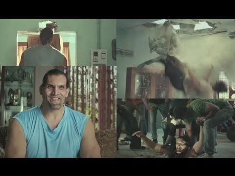 THE GREAT KHALI WWE LATEST FUNNY HILARIOUS VIDEO AD - Funny Advertisemen...