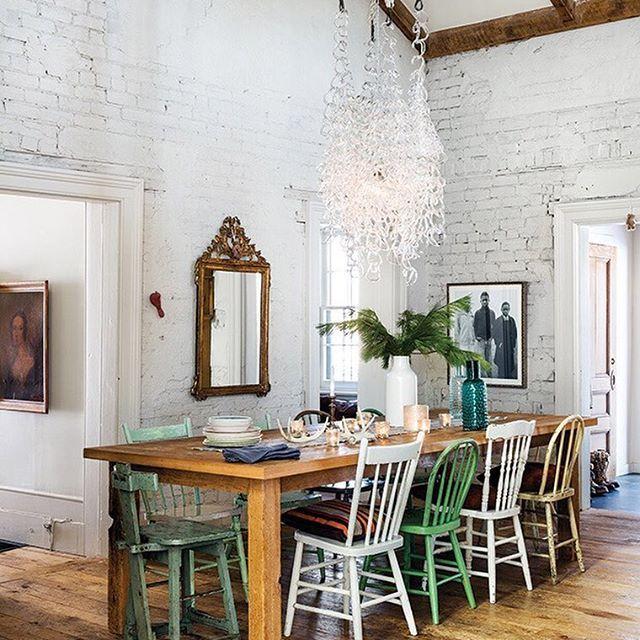 Cette salle à manger au décor naturel est l\u0027endroit rêvé où savourer
