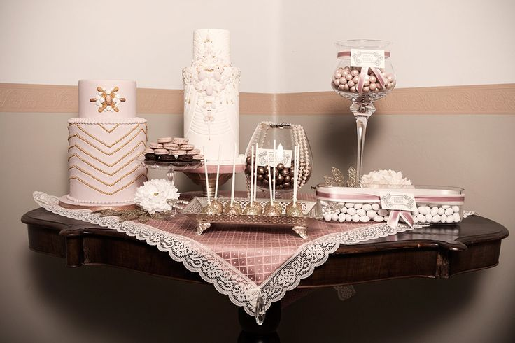 Gallery   Miss Wedding Design, sweet table vintage anni 20, party ideas, pink, gold