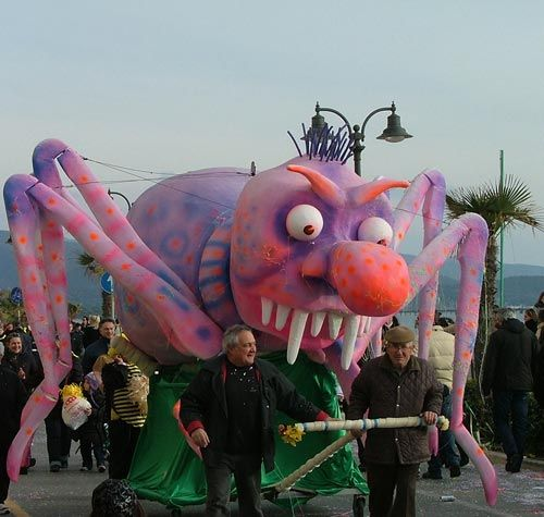February is carnival time in Maremma Tuscany.