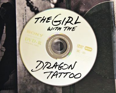 The Girl With The Dragon Tattoo: DVD Design