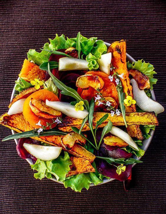 Salade d'automne : nos meilleures idées de salades d'automne pour profiter de la saison - Elle à Table