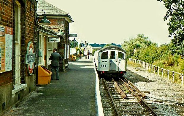 Ongar Underground Station (1865-1994) became part of the London Underground as the far Essex end of the Central Line in 1949, and was closed in 1994. It is now part of the heritage Epping Ongar Railway.
