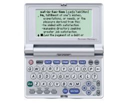 Sharp PW-E550 Oxford American Electronic Dictionary With 250000 Definitions 350000 Synonyms by Sharp. $99.51. The Sharp PW-E550 electronic dictionary delivers comprehensive knowledge of the English language in a convenient and compact design.  The Sharp PW-E550 electronic dictionary delivers comprehensive knowledge of the English language in a convenient and compact design.  The over 250,000 definitions and 350,000 synonyms can be found in this 5 ounce electron...