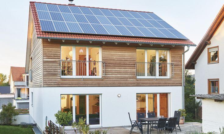 WeberHaus – Plusenergiehaus mit Photovoltaik-Anlag…