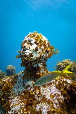 Underwater Sculpture by Jason deCaires Taylor