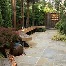 Only A Stoneu0027s Throw: Easy Stone Landscaping Ideas