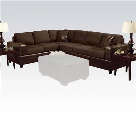 Chubby ebony sofa