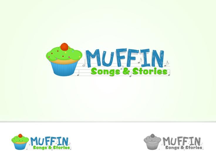 Muffin | Children's Book Logo Design