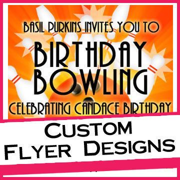 Need a flyer for an upcoming event, celebration, fundraiser, etc.  Purchase this listing: Custom Flyer Design Deposit by CreationsbyLepree on Etsy for only $15 to get you started.  Our custom flyers starts at $30.