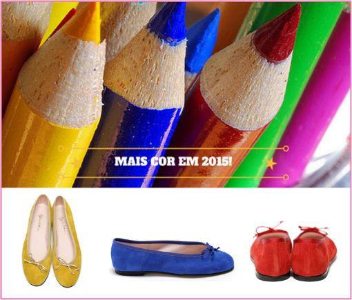 Decidiste que em 2015 vais pintar os teus dias de cor? Descobre as nossas cores clicando no link do nosso perfil.