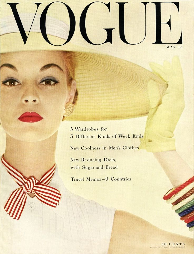 Jean Patchett by Erwin Blumenfeld Vogue US May 1954