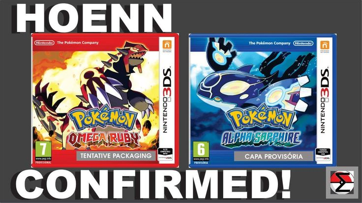 Pokemon Alpha Saphire & Omega Ruby, Coming November 2014!