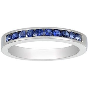 Would have loved it if the sapphires went all around but this is gorgeous!: Sapphire Rings, Brilliant Earth, Platinum Channel, Round Sapphire, Gold Channel, Sets Round, Channel Sets, Brilliantearth, Engagement Rings
