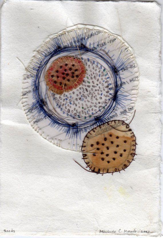 Seeds, Organic Patterns, Artist Study, Resources for Art Students , with thanks to Artist Michelle Moode CAPI ::: Create Art Portfolio Ideas at milliande.com , Art School Portfolio Works