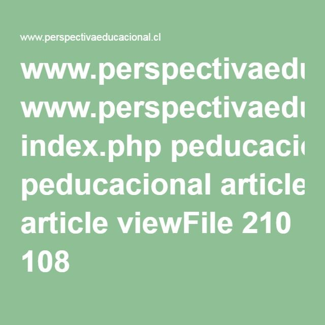 www.perspectivaeducacional.cl index.php peducacional article viewFile 210 108