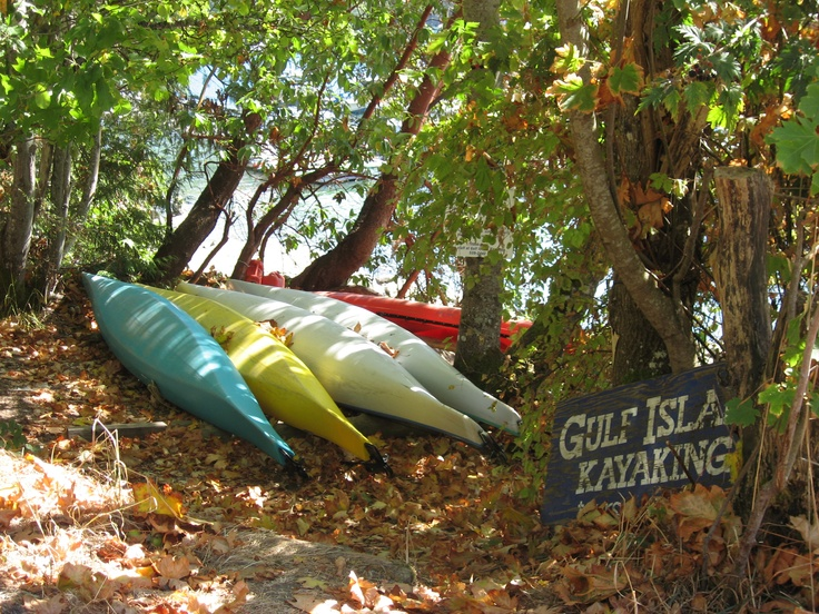 """Gulf Island Kayaking on Galiano Island, British Columbia"" #explorebc"