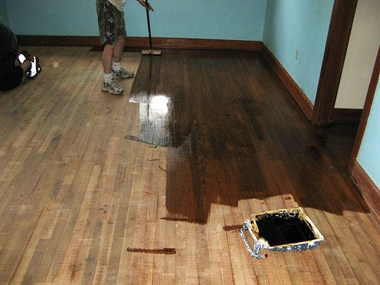 How To Refinish Wood Floors Home Remodel Pinterest Flooring And