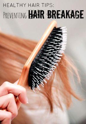 Tips on preventing hair breakage