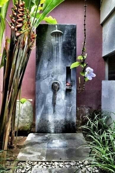 Courtyard Shower