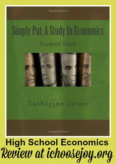 "Review of ""Simply Put: An Economics Textbook"" for high school economics"