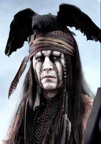 Johnny Depp en El Llanero Solitario
