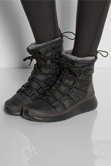 Nike Run Hi shell sneaker-style boots