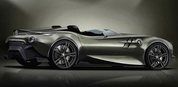 concept fot BMW 100 years anniversary by designer Dejan Hristov