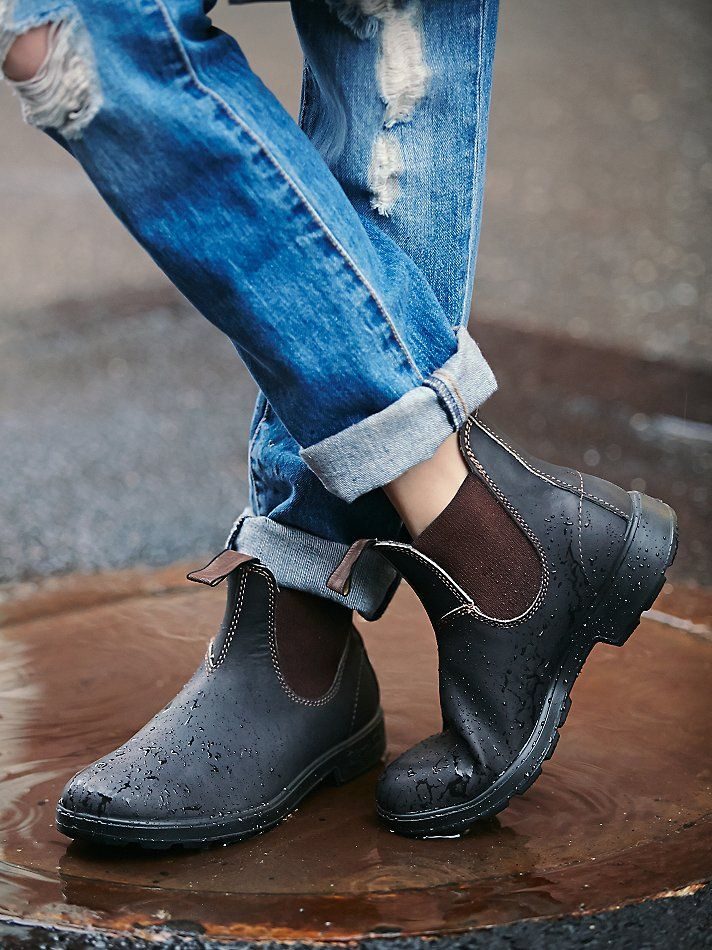 雨と靴 by pinterest