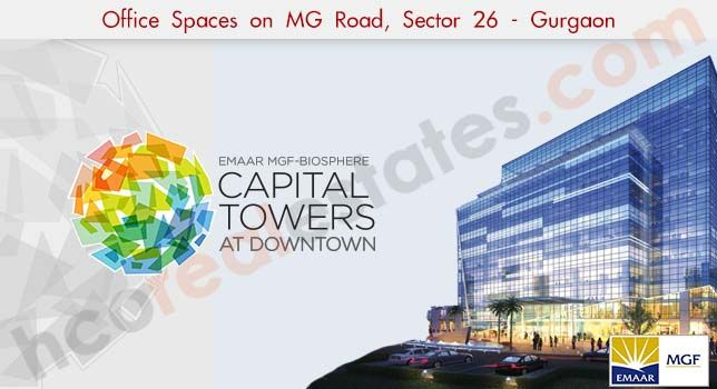 Emaar MGF Downtown Capital Tower Sector 26 Gurgaon #EmaarMGFDowntown #EmaarMGFcapitalTower