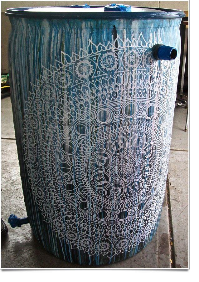 Best 25 Rain Barrels Ideas On Pinterest Water Barrel