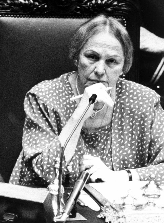 Leonilde Iotti (1920 – 1999) - Leonilde Iotti, commonly known as Nilde Iotti, was an Italian exponent of the Communist Party