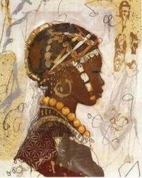 peinture africaine 2004                                                                                                                                                                                 Plus