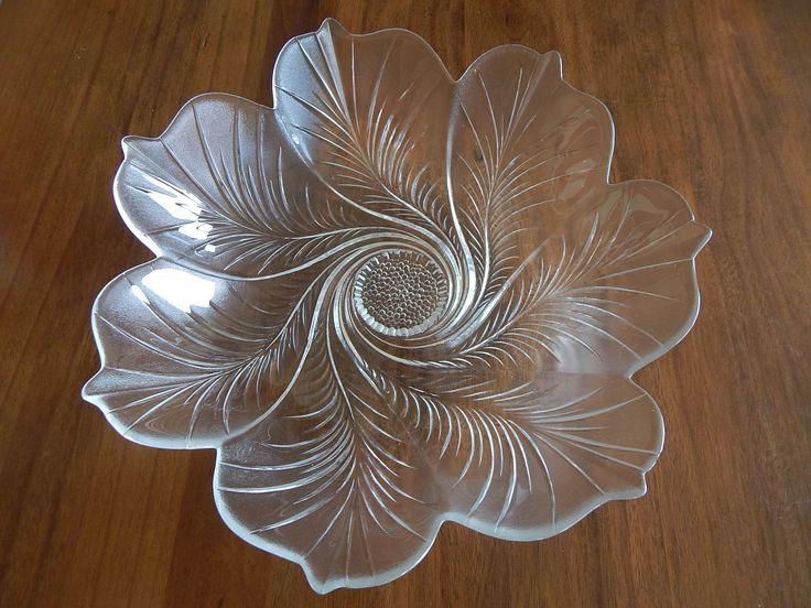 Beautiful glass plate (fantastic op shop find)