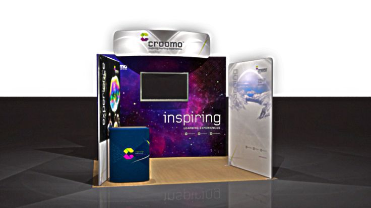 Latest project - this time a Standroid Fabric Display and static fabric walls. Roll your AV into the mix and it's a great option for a 3x3 booth or alternatively when you have to define your own parameters. Thanks to the lads at #Croomo for following my direction - coupled with their brilliant artwork feedback at both shows so far have been better than positive. #wardourst.displays #wardourst.standroid