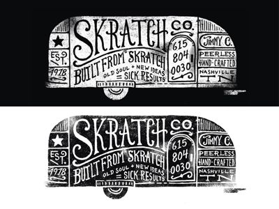 Skratchdrib: Airstream Obsession, Typography Logos, Design Typography, Design Logos, Airstream Design, Camper Typography, Built Airstreams, Hand Lettering