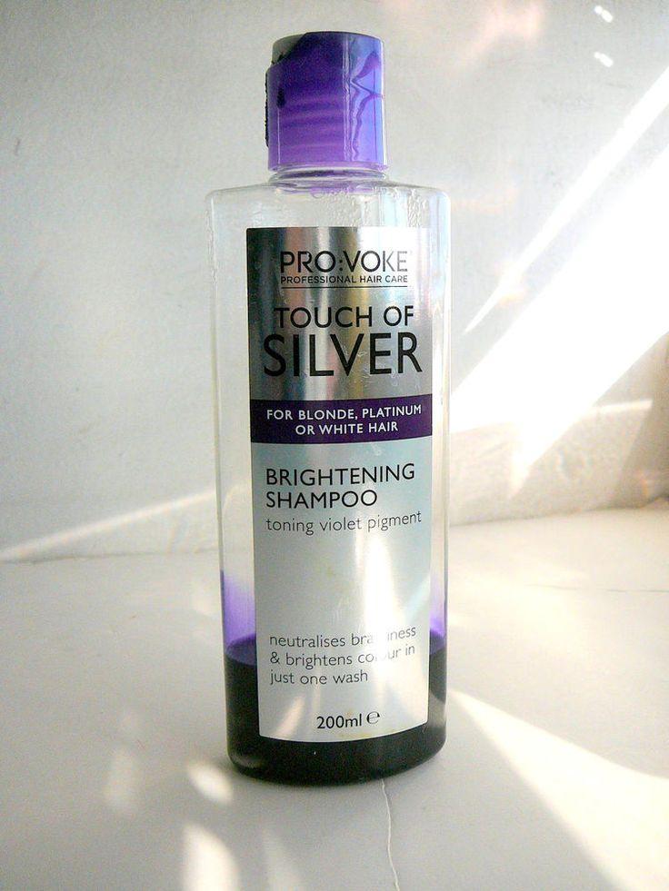 Pro:Voke PROVOKE Touch of Silver SHAMPOO Blonde White Hair Violet Brightens Trl…