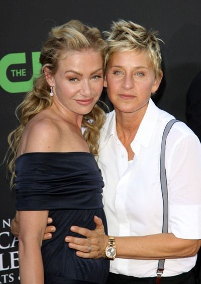 from Alfredo is portia de rossi gay