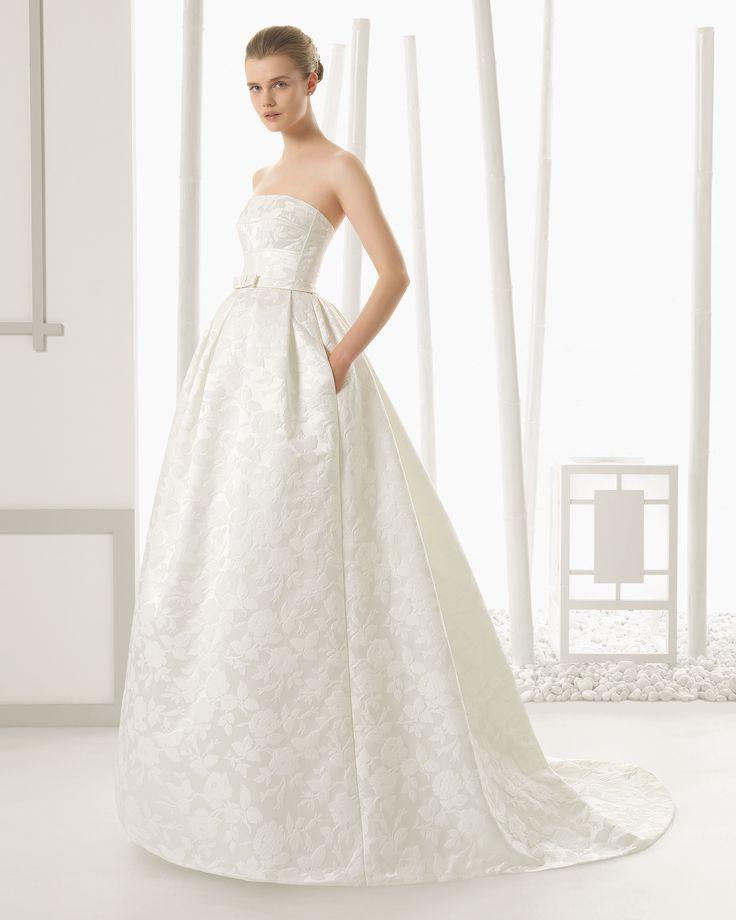 DETALLE vestido de novia Rosa Clará 2016