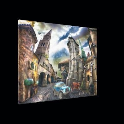 Raro Pueblo - Canvas Gallery Wrap Canvas from Zazzle.com
