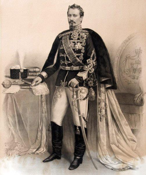 Alexandru Ioan Cuza principe of Moldova and Valahia