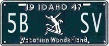 Generate your own license plate....