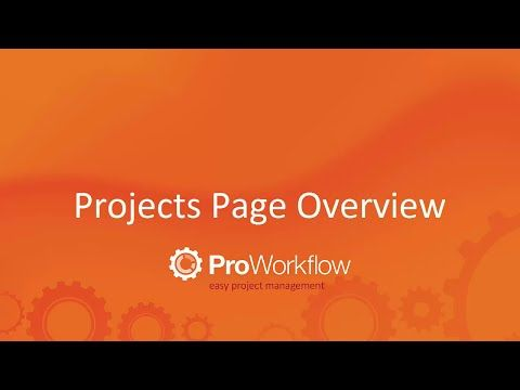 Project Management - Manage all project details on the project dashboard!