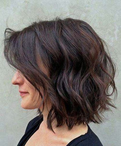 Messy Short Wavy Bob Hairstyles 2018 to Look Fabulous and Stunning