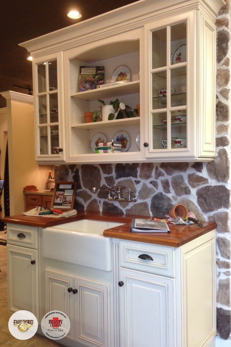 Worried What Kind of Kitchen Cabinet to Install? Get Fabuwood Wellington Ivory